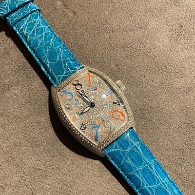 franckmuller フランクミュラー 替えベルト 時計ベルト ベルト交換 バンド交換