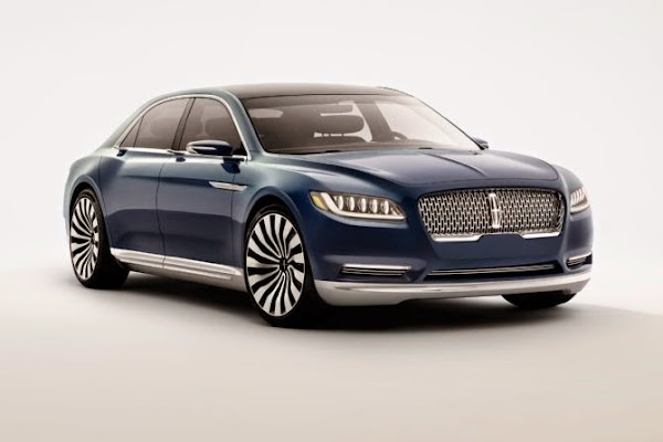 Lincoln Continental Concept Photo Gallery