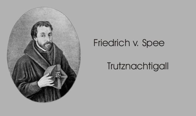 Bild Friedrich von Spee- Trutznachtigall