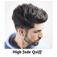 High fade Quiff