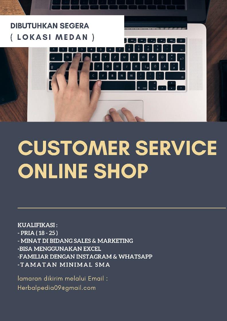 Informasi Loker Medan Terbaru Cs Online Shop Di Herbalpedia Medanloker Com Lowongan Kerja Medan
