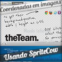 Sprite Cow - Crie coordenadas de Imagens em CSS Sprites