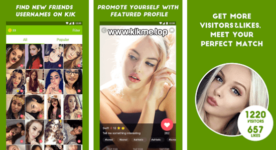 App KK Friends for Kik Messenger gratis