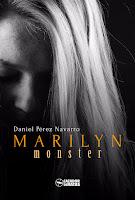 "Portada del libro ""Marylin Monster"", de Daniel Pérez Navarro"