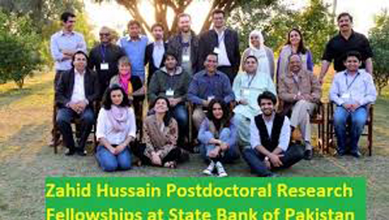 Zahid Hussain Postdoctoral Research Fellowships at State Bank of Pakistan
