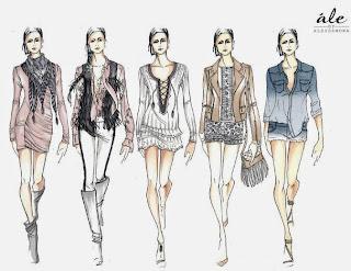 Resultado de imagem para desenhos de estilistas