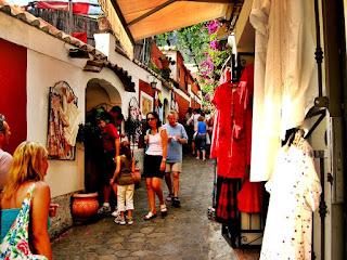 Wonderful Shops Positano Italy