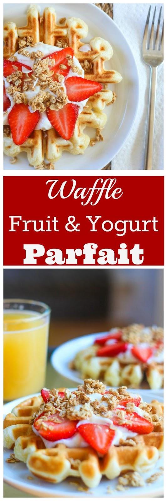 Waffle Yogurt Parfait