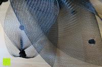 Stoff: Valdler Damen Fascinator Hut Mini-Hut Blumen Tüll Netz Fasching Haarschmuck