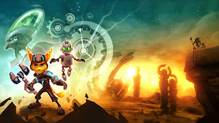 Ratchet & Clank PS3 Wallpaper
