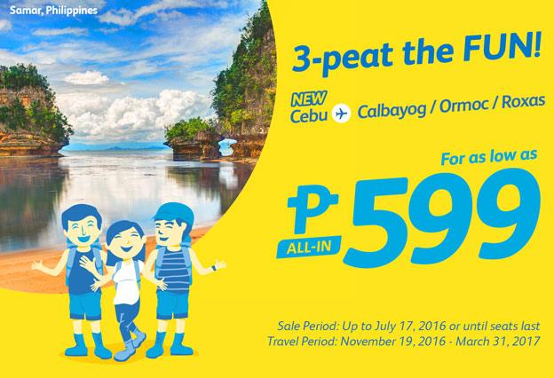 Cebu Pacific Promo Fares 2016-2017