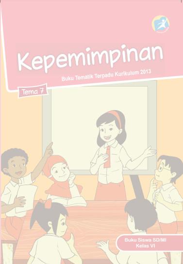 Download Buku Siswa Kurikulum 2013 SD Kelas 6 Tema 6 Menuju Masyaraka Sehat