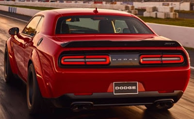 2018 dodge challenger srt demon 840 horsepower | New York Auto Show 2017