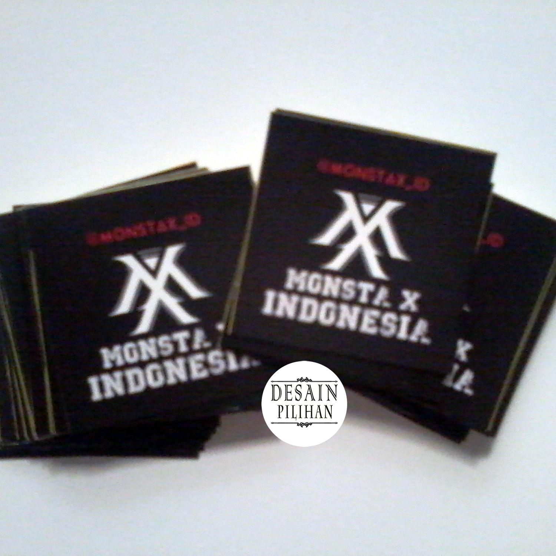 STICKER PRODUCT, STIKER PRODUK BISNIS MONSTAX INDONESIA