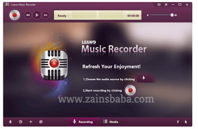 Leawo Music Recorder 2.3.0.0 Latest | ZainsBaba.com