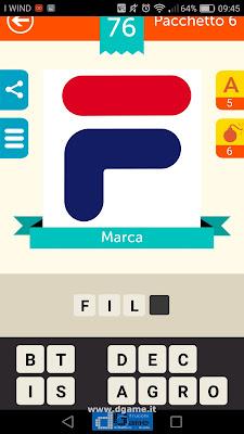 Iconica Italia Pop Logo Quiz soluzione pacchetto 6 livelli 76-100
