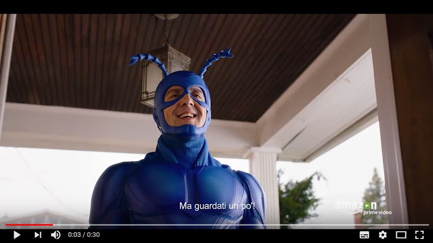 Amazon Prime Video: The Tick disponibile in italiano dal 13 Ottobre