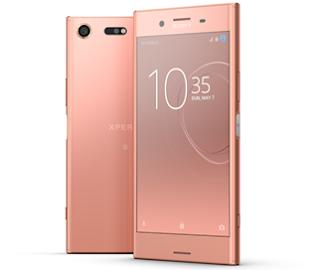 Source: Sony. The Bronze Pink Sony Xperia XZ.