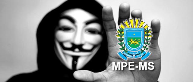 Anonymous captura 20GB de dados sigilosos do MPE e promete divulgar no WikiLeaks.
