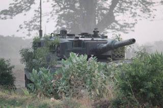 Tank Leopard 2A4 Kostrad