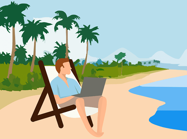 how to work remotely while traveling on shoestring budget