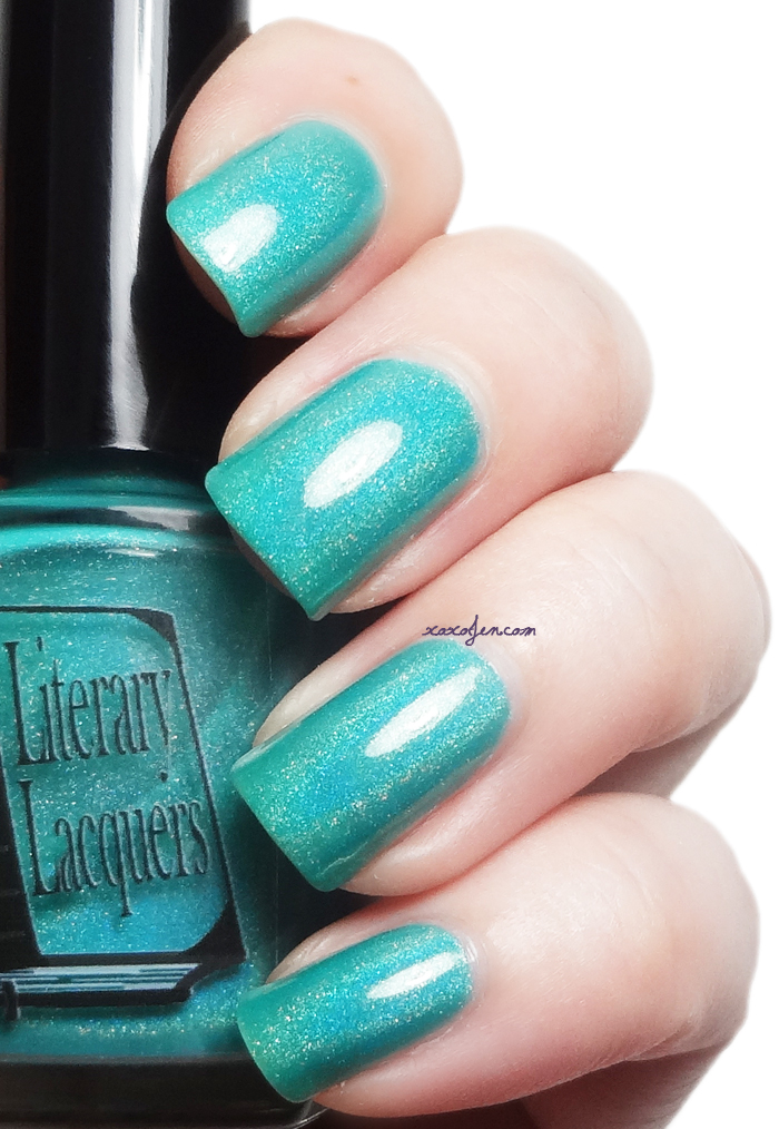 xoxoJen's swatch of Literary Lacquers Some Glad Morning