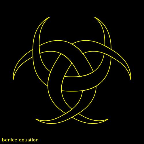 Fun Math Art Pictures Benice Equation Triple Crescent Moon