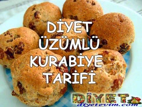 üzümlü kurabiye tarifi