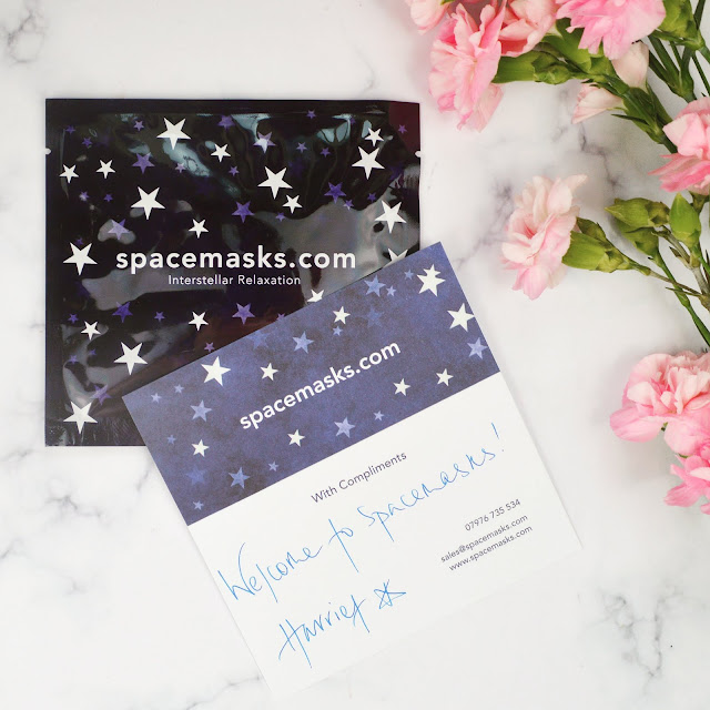 Lovelaughslipstick blog Spacemasks review