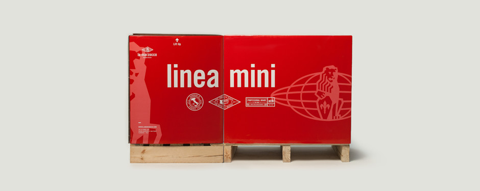 la marzocco linea mini packaging on packaging of the world. Black Bedroom Furniture Sets. Home Design Ideas