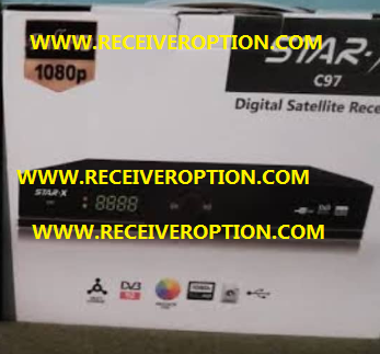 STAR-X C97 HD RECEIVER POWERVU KEY NEW SOFTWARE