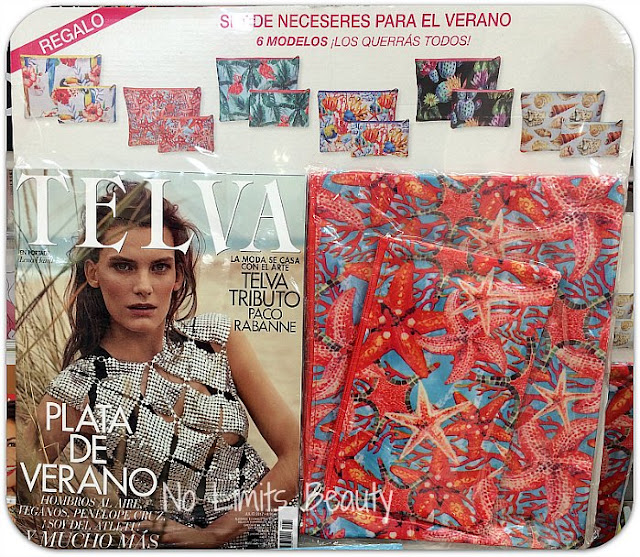 Regalos revistas julio 2017: Telva