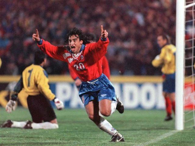 Chile y Ecuador en Clasificatorias a Francia 1998, 6 de julio de 1996