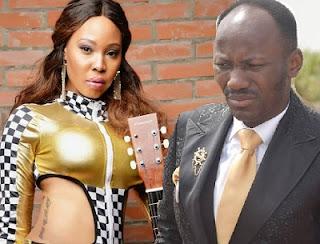 Apostle Johnson Suleman and Stephanie Otobo Lover Scandal