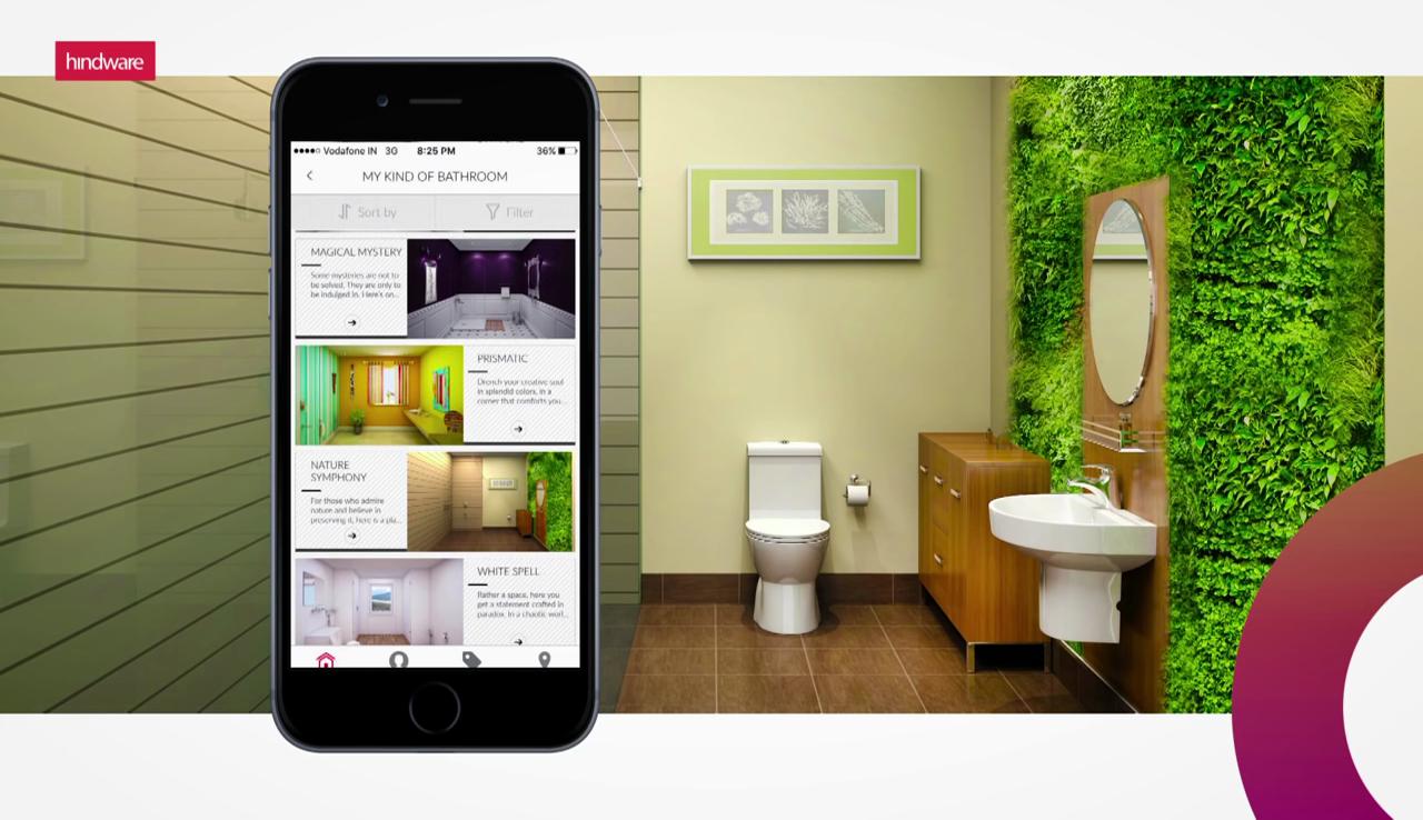 Hindware dreambath world s first bathroom visualization for Bathroom designs hindware