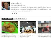 Pak Anton Penghobi Dunia  Blogging Dari Kota Bogor