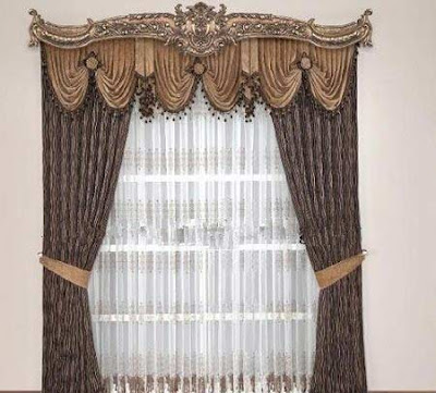 The best types of curtains and curtain design styles 2019, luxury curtain design