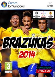 BAIXAR PC PATCH PES 2014 BRAZUKAS
