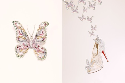Louboutin Cinderella Slippers