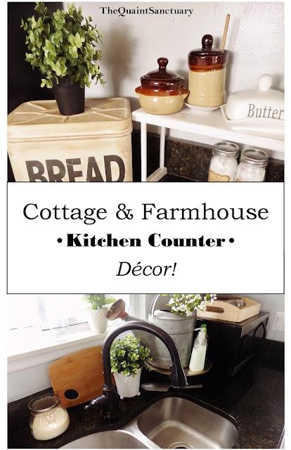 The Quaint Sanctuary Farmhouse Kitchen Counter Decor Ideas