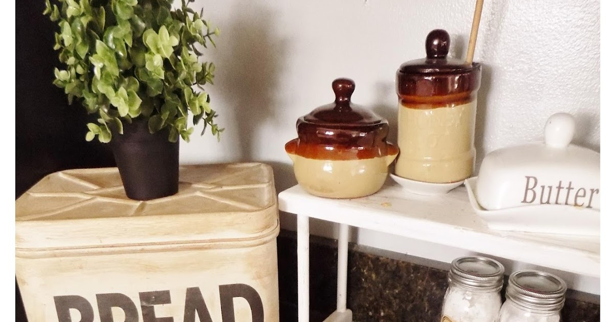 The Quaint Sanctuary: { Farmhouse & Kitchen Counter Decor ... on Farmhouse Kitchen Counter Decor Ideas  id=44504