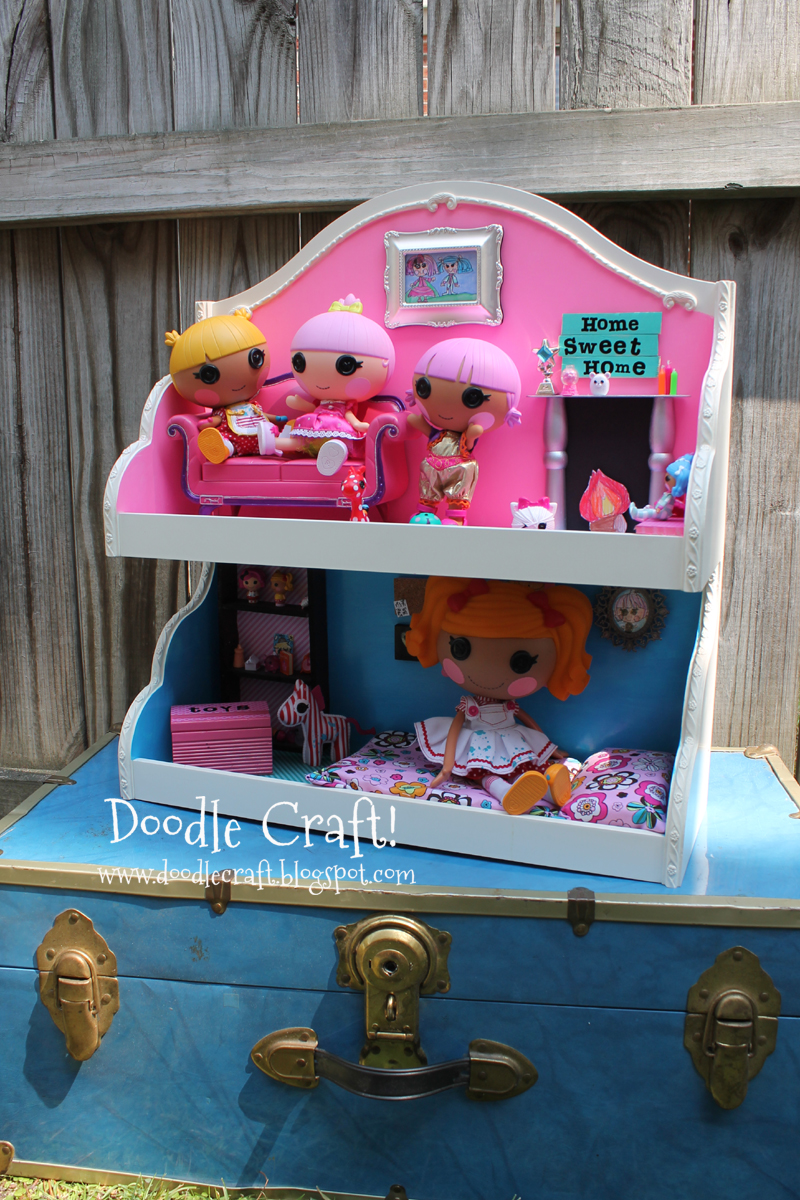 Lalaloopsy Dollhouse Upcycled Craft