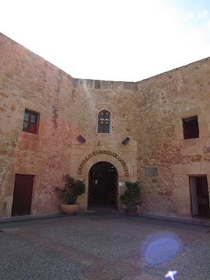 Capilla en el castillo de Santa Pola