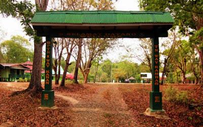 Gapura Taman Nasional I Way Kanan