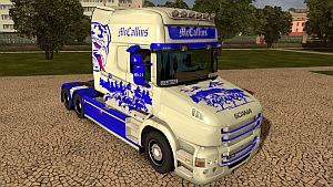 McCallins skin for Scania T