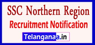SSCNR SSC Northern Region Recruitment Notification 2017 Last Date 07-06-2017