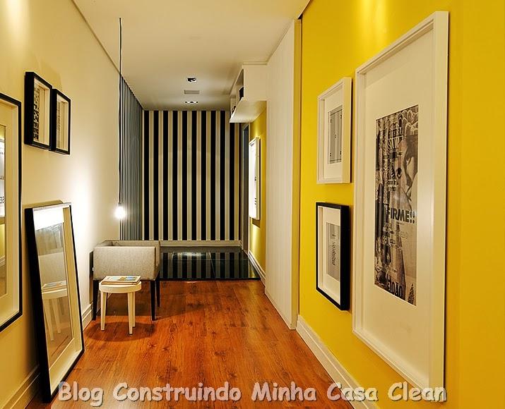 Construindo minha casa clean tintas e cores para pintura for Idea de pintura de corredor