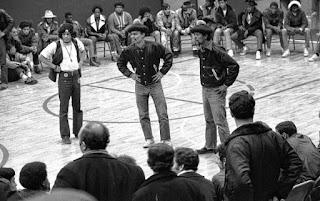Reunión de bandas en Hoe Avenue - Bronx 1971