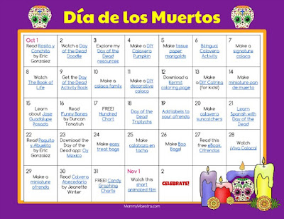 Halloween and Dia de Muertos Activity - Reosurces for your Spanish ...