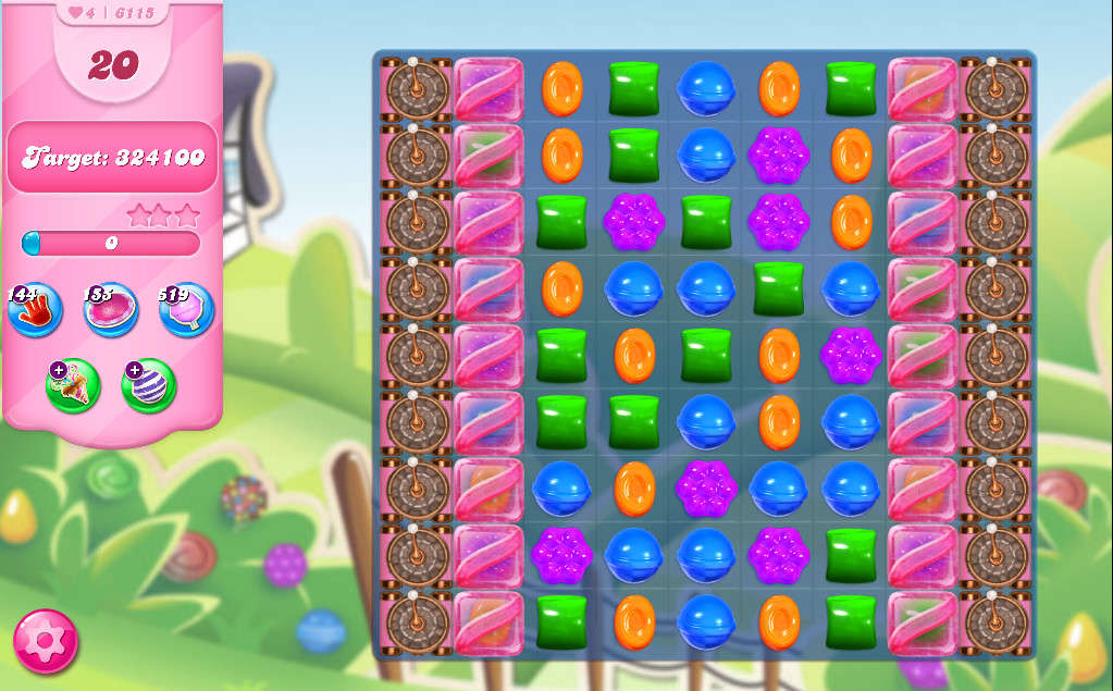 Candy Crush Saga level 6115
